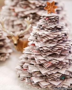 Decoração Arvore De Natal Reciclavel