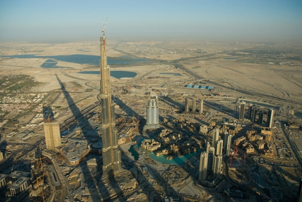 Burj Khalifa - Edificios Mais Altos do Mundo