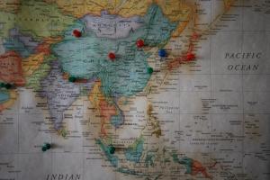 Países e Capitais da Ásia