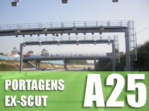 Portagem SCUT A25